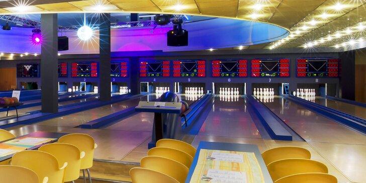 Bowling až pro 8 osob a 30% sleva na konzumaci z jídelního lístku
