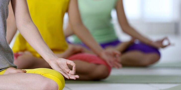 Otevřené lekce jógy dle výběru pro začátečníky i pokročilé v Anjali studiu