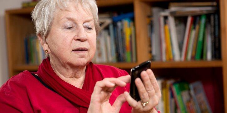 Pošlete své (pra)rodiče na kurz zacházení s chytrým telefonem nebo tabletem