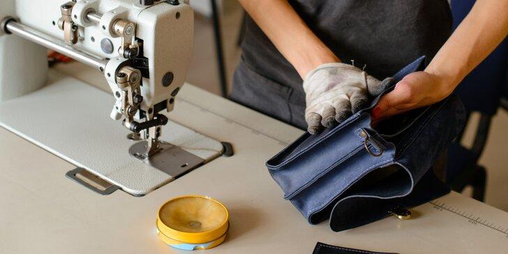 Oprava a úprava kabelek, tašek, pásků a jiné kožené galanterie