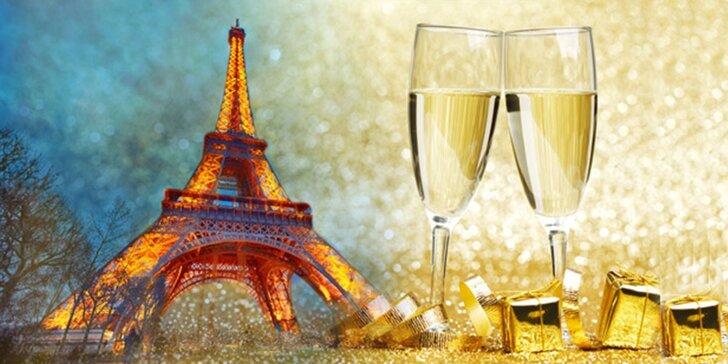 Silvestrovský výlet do kouzelné Paříže na otočku vč. prohlídky města s průvodcem