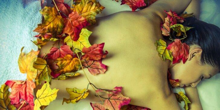 Podzimní relaxace pro dámy: masáž i kávový peeling a skořicový zábal