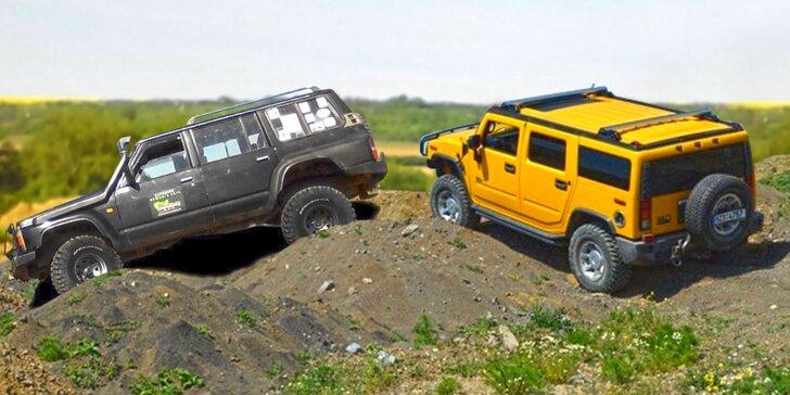 Nic vás nezastaví: jízda Hummerem H2 nebo offroadovým speciálem Nissan Patrol