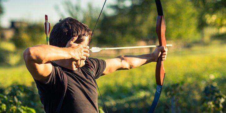 Možná předčíte i Robina Hooda - 2hodinový kurz sportovní lukostřelby