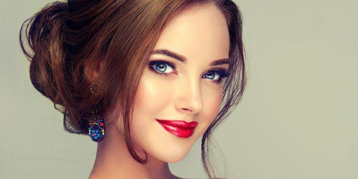 Přirozeně krásná: úprava řas i kompletní výživná kosmetická péče o pleť