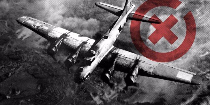 Změňte události roku 1945 v autentické únikovce Bombardování Prahy