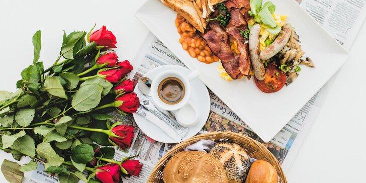 Zimní ráno u náplavky: snídaňové menu podle vašeho gusta pro 1 či 2 osoby