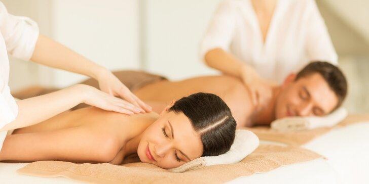 Relaxační masáž se sibiřskými éterickými oleji + dárek