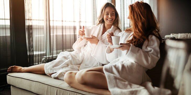 Den jako pro princeznu: Balíček péče s detoxikačním čajem v masážním salonu