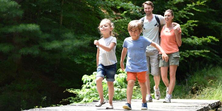 Rodinná dobrodružství na celý rok: mapa a úkoly k výletu, jaký si vyberete