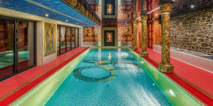 Antické lázně se slaným bazénem a Crazy Fit Massage pro 2 osoby