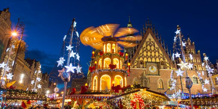 Poznejte předvánoční atmosféru kouzelné a půvabné Wroclawi s průvodcem