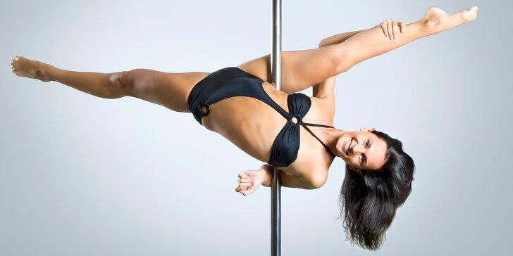 Rozhýbejte podzim: 1, 3 nebo 5 libovolných lekcí od pole dance po body form