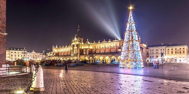 Výlet na vánoční trhy do polského Krakova, města plného památek UNESCO