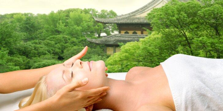 Harmonizující hodinová čínská masáž Tuina pro bolavá záda