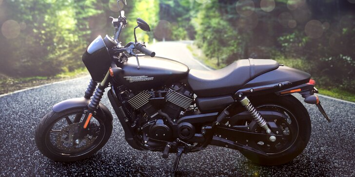 Legendární motorka Harley-Davidson: zapůjčení na pár hodin nebo celý den