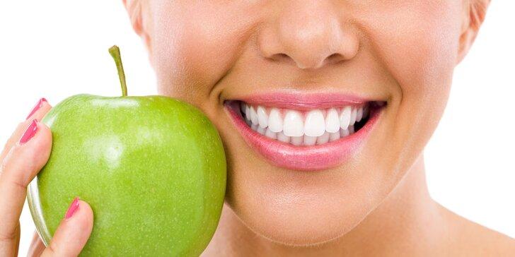 Získejte zářivý úsměv profesionálním neperoxidovým bělením zubů
