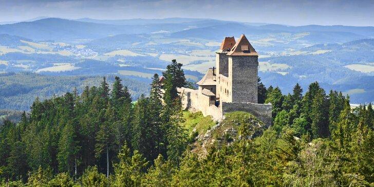 Třídenní relax na Šumavě: Ubytování se snídaní, lyžování, cyklistika i turistika