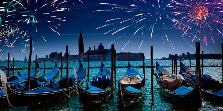 Oslavte Silvestr v Benátkách a prohlédněte si úchvatné vinice v Trentu