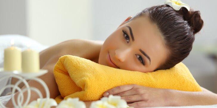Podzimní relax: prohřívací tepelný rašelinový zábal a 40minutová masáž