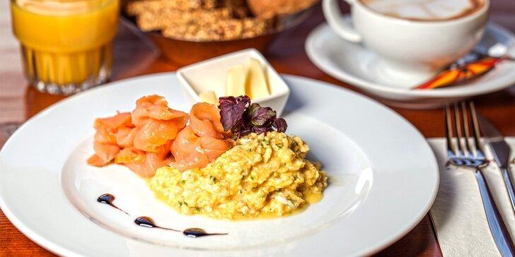 Dobré ráno, Praho: Vydatná snídaně s nápojem pro jednoho nebo dva