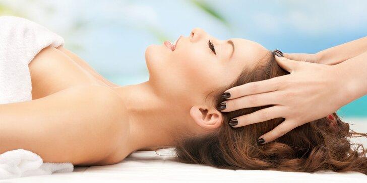Postrašte stres masáží: 60 minut hýčkání hlavy, šíje, obličeje a rukou