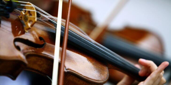 Podzimní koncert s Mozartem, Dvořákem, Straussem a dalšími velikány