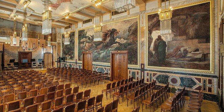 Exkluzivní představení Mozart a Strauss v Grégrově sálu Obecního domu
