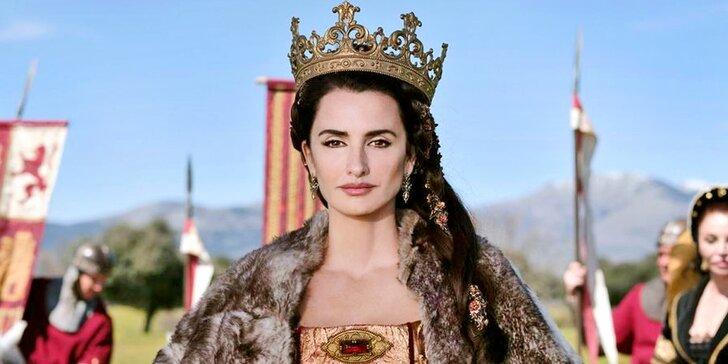 Vstupenky do Lucerny na komedii Španělská královna, v hl. roli Penélope Cruz