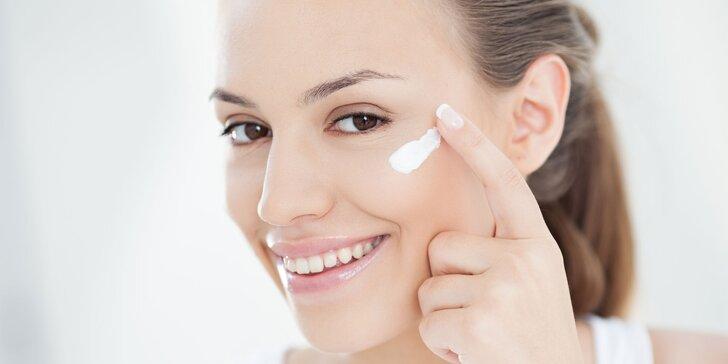 Mladší za 60 minut: kosmetické ošetření pleti s hloubkovým čištěním či s masáží