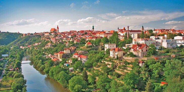 Vinařská dovolená u Znojma: Česká polopenze, degustace vín a zapůjčení kol