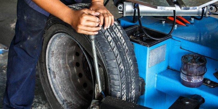 Přezouvejte včas - Přezutí pneumatik a kompletní prohlídka vozu