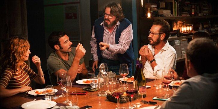Dva lístky do Lucerny na italský film Naprostí cizinci, české titulky