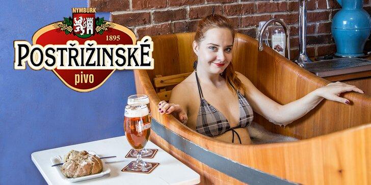 Hýčkání v Poděbradech: pobyt na 2–5 dní, pivní koupel a relaxační procedury