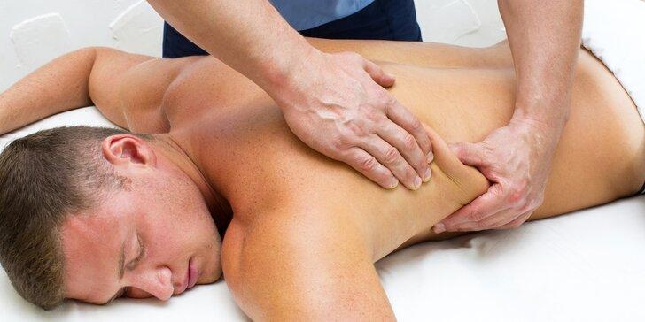 Tohle pánům tvorstva bodne: Breussova masáž speciálně pro muže