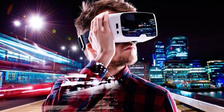 Procestujte Zemi či navštivte jiné světy: Virtuální realita na 2 hodiny až pro 2