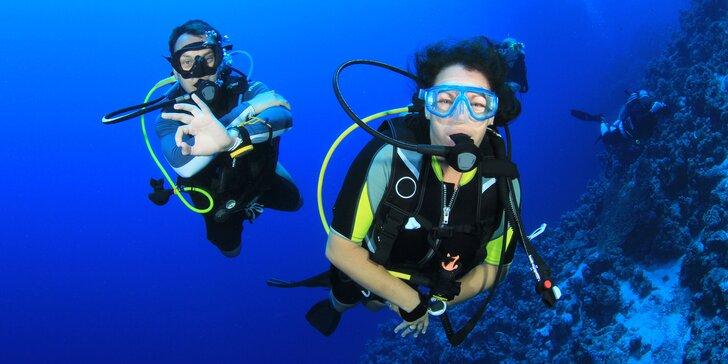 Až 2hodinový poznávací ponor pro začátečníky na jezeře Matylda