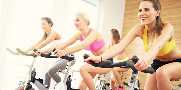 10 lekcí spinningu ve Fitness Olgy Šípkové = kondice i formování postavy