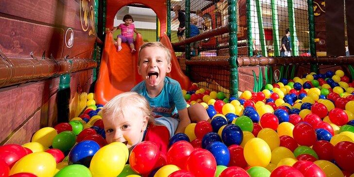 Svezte se na vlně dobré zábavy: celodenní vstup do dětského parku Robinson