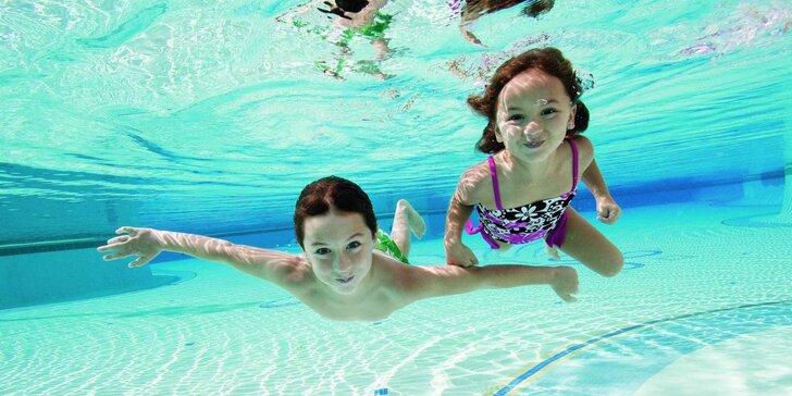 Hurá do vody: plavecké kurzy pro děti v bazénu při ZŠ prof. Generála Píky