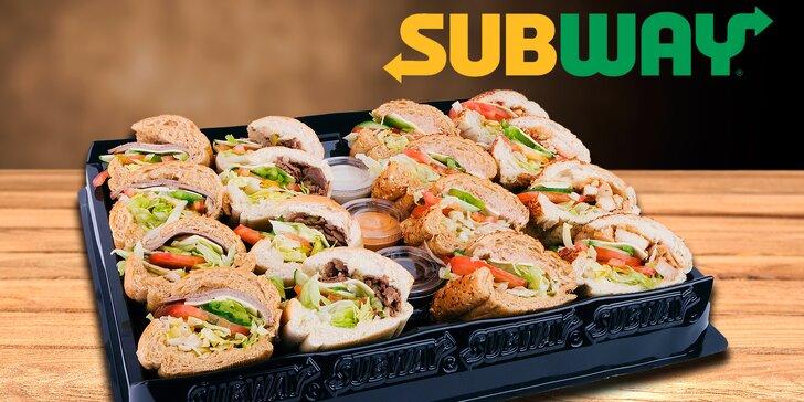 SUBWAY(R) talíř s nejoblíbenějšími sendviči světa