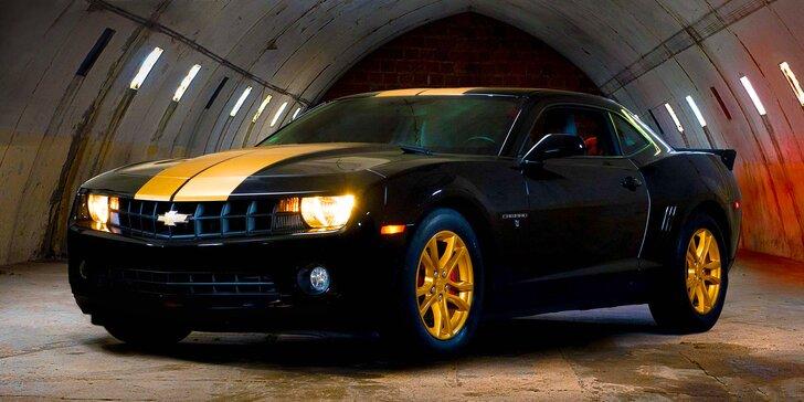 Tohle bude jízda: Černo-zlatá upravená legenda Chevrolet Camaro na 24 hodin