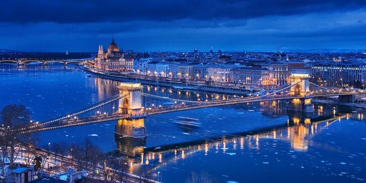 Až 4 dny tokání uprostřed romantické Budapešti se snídaní pro 2 či pro 3