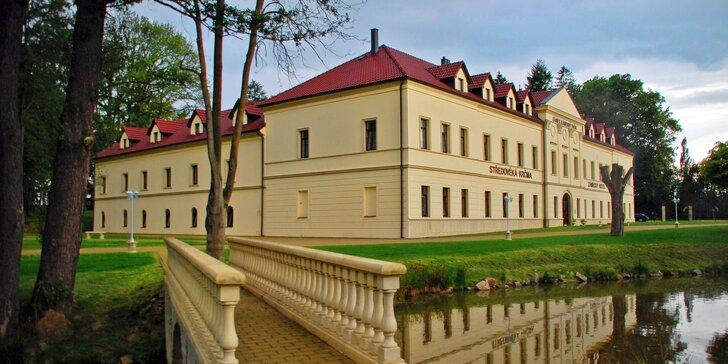 Podzimní relax na zámku: Gurmánské all inclusive a neomezené wellness