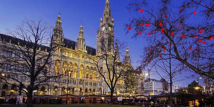 Kouzlo vánoční Vídně: celodenní výlet z jednoho z 9 nást. míst na Moravě