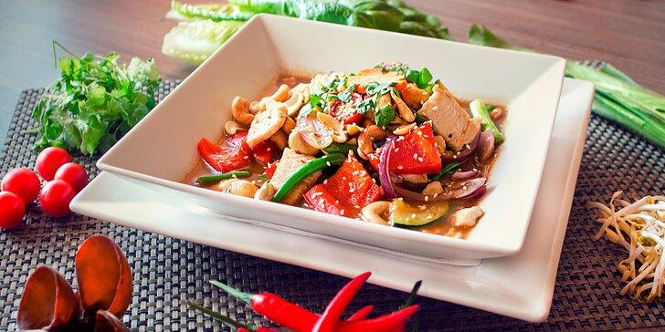 Talíř plný barev: pochutnejte si na 3chodovém thajském Curry menu pro 1 či 2