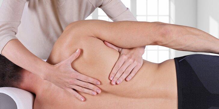 Zbavte se konečně bolestí zad s pomocí fyzioterapeuta