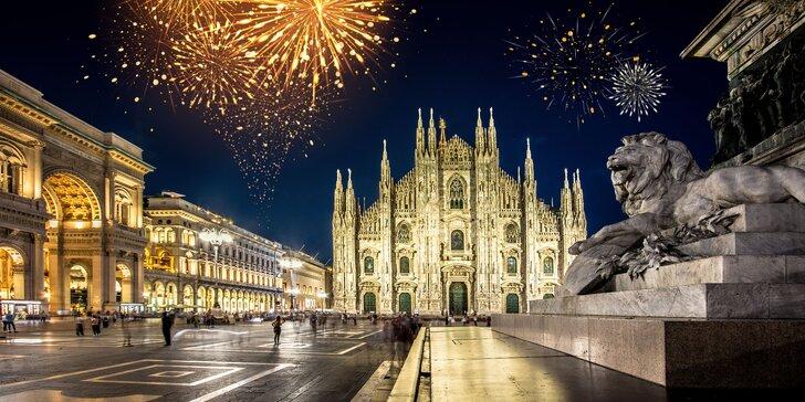 Oslavte konec roku v Miláně s prohlídkou města a velkolepým ohňostrojem