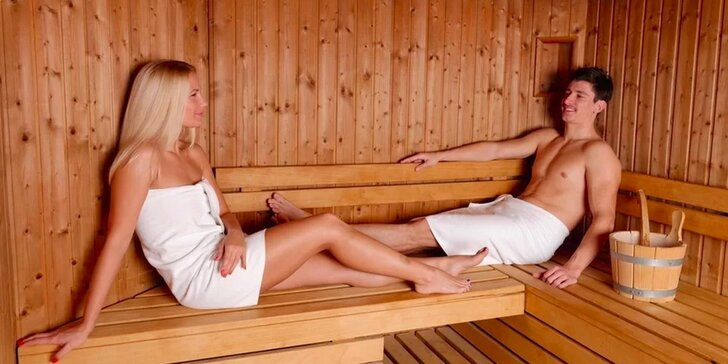 60 minut v privátní sauně pro jednoho nebo pro dva v centru Prahy