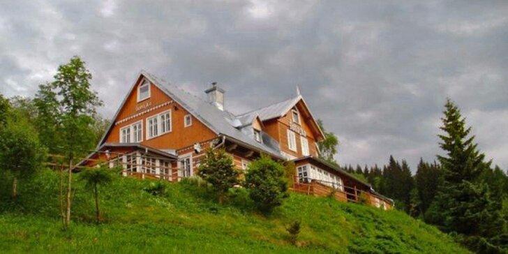 Podzim v Peci pod Sněžkou: Pravá horská chata i chutné stravování